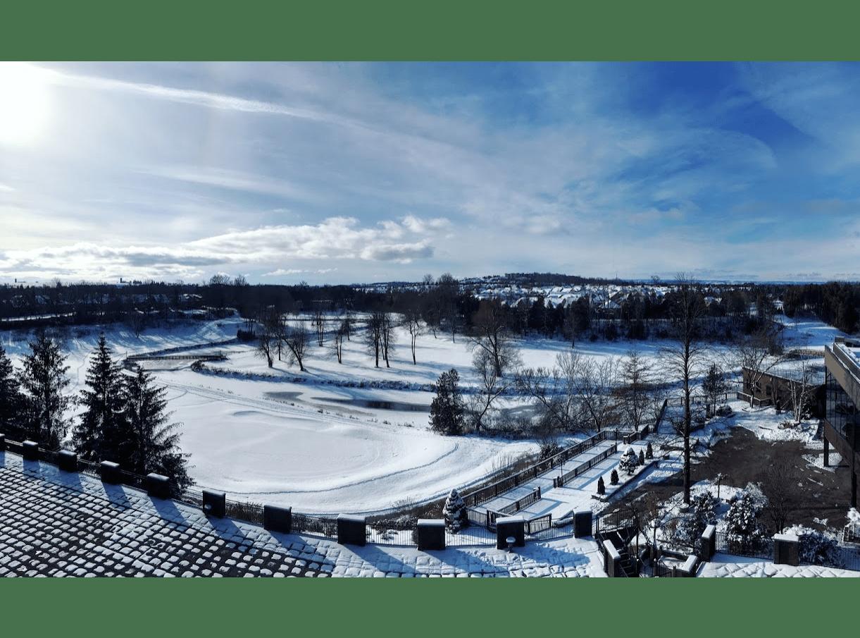 Canadian Winter Scene