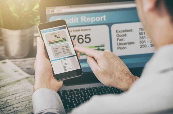 mobile app - credit score