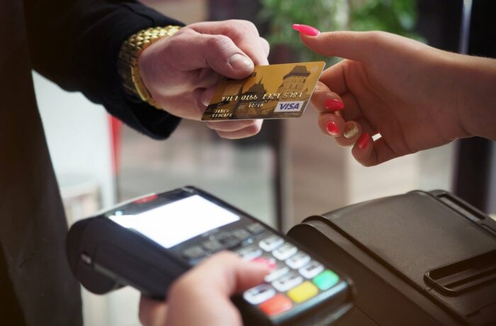 Paying with credit