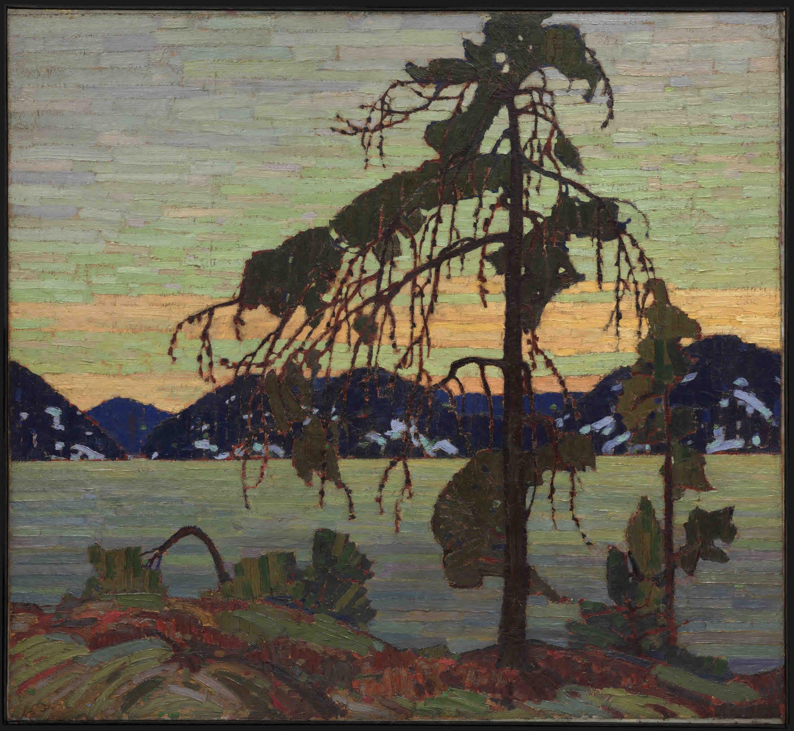 Tom Thomson's painting, The Jack Pine, 1916-1917