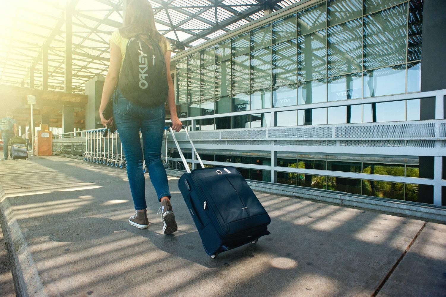 international student traveling