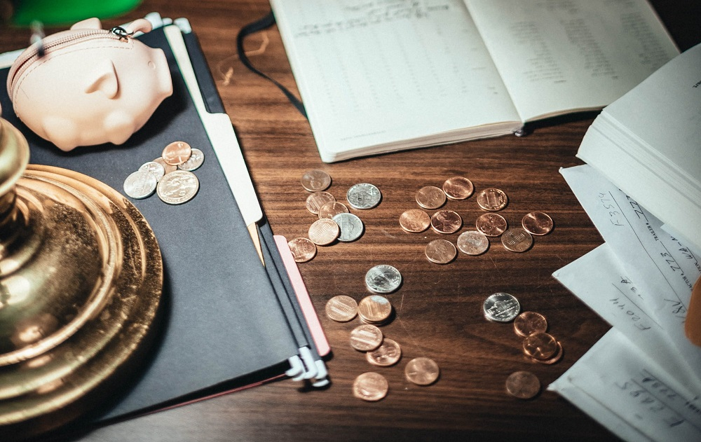 coins and documents